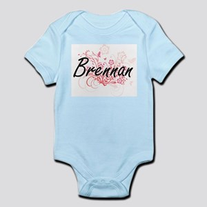 Brennan surname artistic design with Flo Body Suit