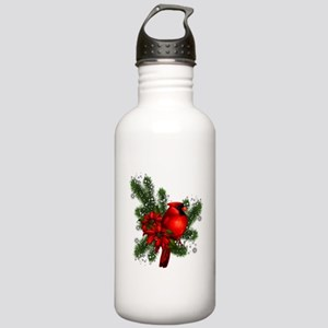 CARDINAL/PINE Stainless Water Bottle 1.0L