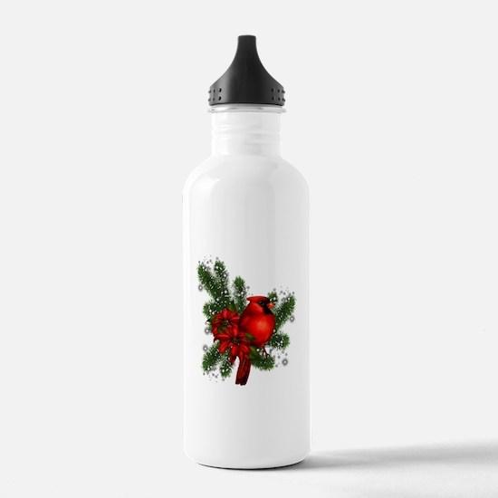 CARDINAL/PINE Water Bottle