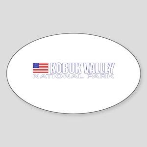 Kobuk Valley National Park Oval Sticker