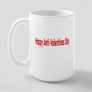 Happy Anti Valentines Day Large Mug