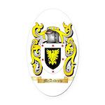 McAndrew Oval Car Magnet