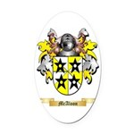 McAloon Oval Car Magnet