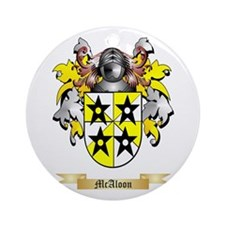 McAloon Round Ornament