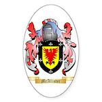 McAllister Sticker (Oval 50 pk)