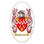 McAlley Sticker (Oval 50 pk)