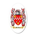 McAlley 20x12 Oval Wall Decal
