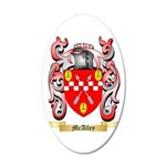 McAlley 35x21 Oval Wall Decal