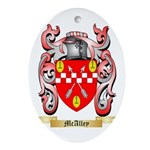 McAlley Oval Ornament