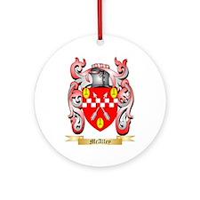 McAlley Round Ornament
