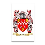 McAllay Rectangle Car Magnet