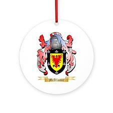 McAllaster Round Ornament