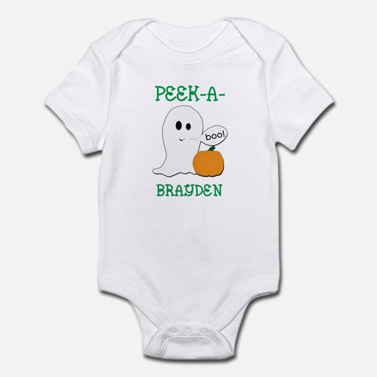 Brayden Halloween Peek-A-Boo  Infant Bodysuit