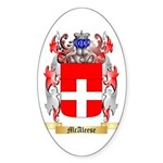 McAleese Sticker (Oval 10 pk)