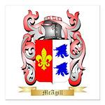 McAgill Square Car Magnet 3