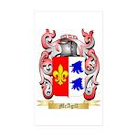 McAgill Sticker (Rectangle 10 pk)