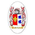 McAgill Sticker (Oval 10 pk)