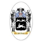 McAdoo Sticker (Oval 50 pk)