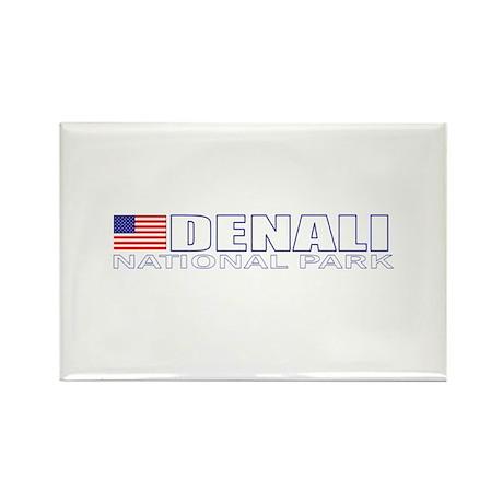 Denali National Park Rectangle Magnet (100 pack)
