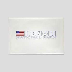 Denali National Park Rectangle Magnet