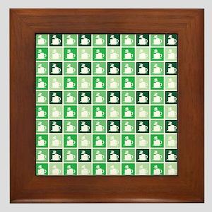COFFEE MUGS Framed Tile