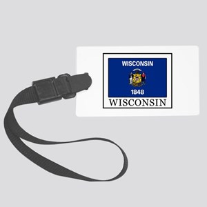 Wisconsin Large Luggage Tag