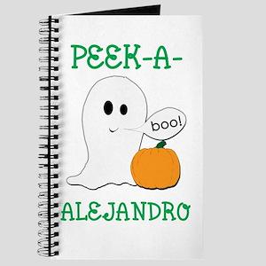 Alejandro Halloween Peek-A-Bo Journal