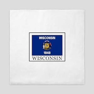 Wisconsin Queen Duvet