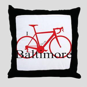 Baltimore Throw Pillow