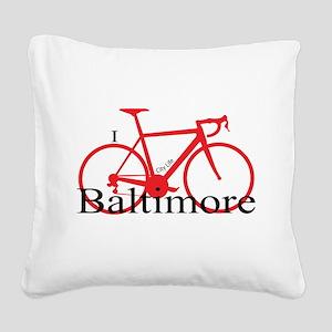 Baltimore Square Canvas Pillow