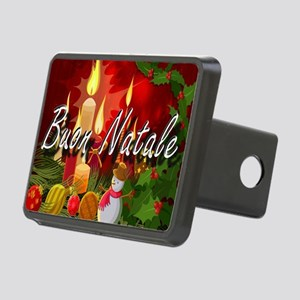 Merry Christmas-Buon Natale Hitch Cover