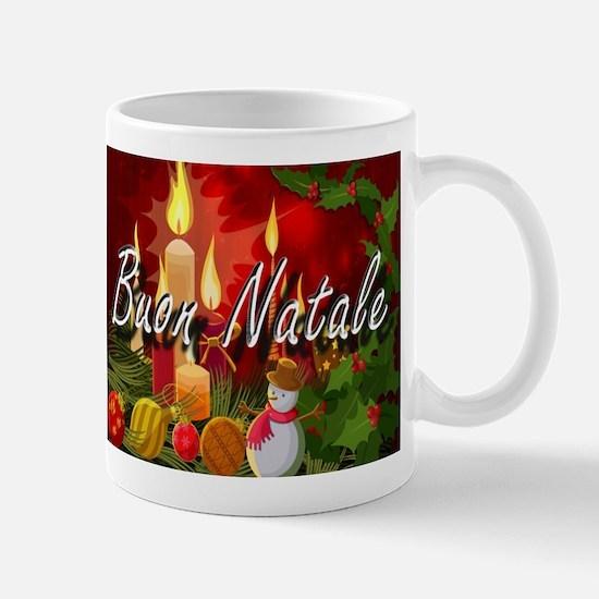 Merry Christmas-Buon Natale Mugs