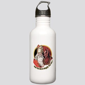 Where you naughty This Year? Sports Water Bottle