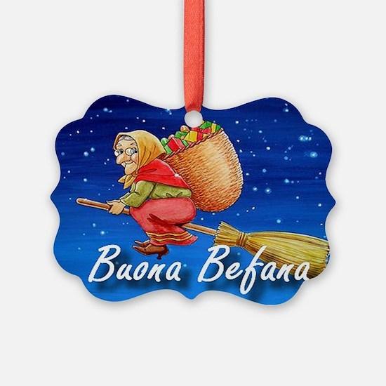 Buona Befana Ornament