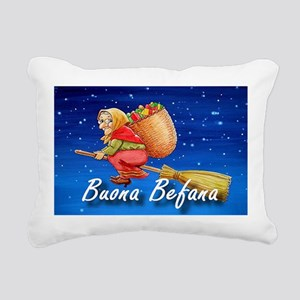 Buona Befana Rectangular Canvas Pillow