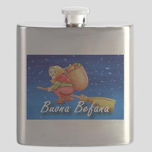 Buona Befana Flask