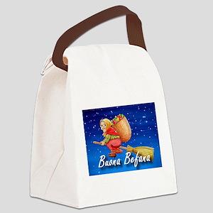 Buona Befana Canvas Lunch Bag