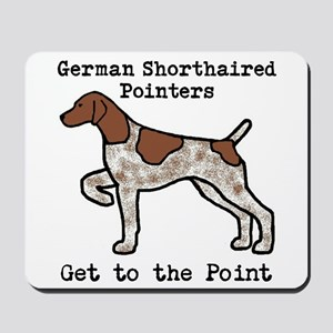 German Shorthaired Pointers Get To The Mousepad