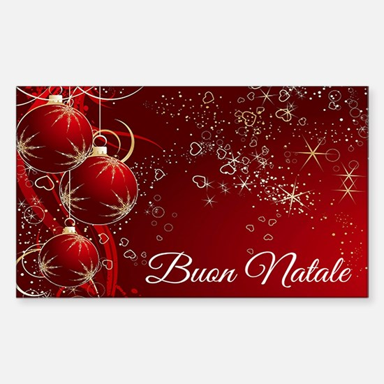 Buon Natale Decal