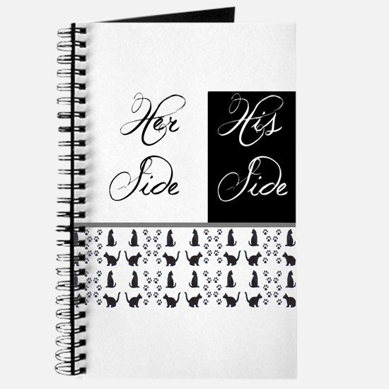 her,his, cat Journal