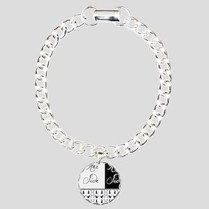 her,his, cat Charm Bracelet, One Charm
