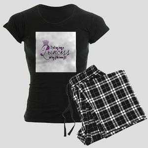 Princess, It isn't easy Women's Dark Pajamas