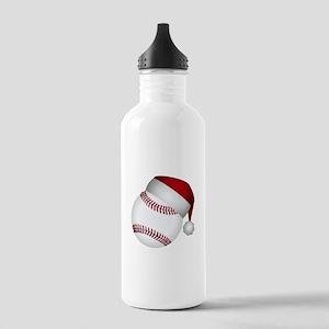 Christmas Baseball Stainless Water Bottle 1.0L