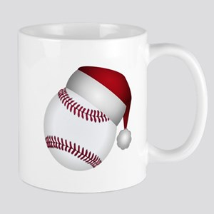 Christmas Baseball Mugs