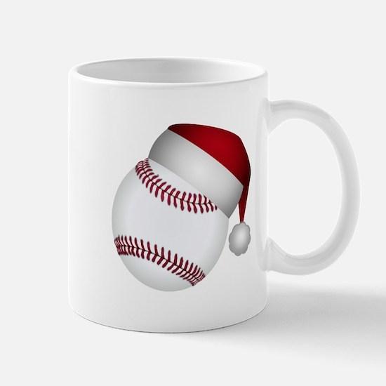 Christmas Baseball Mugs