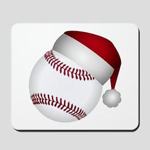 Christmas Baseball Mousepad