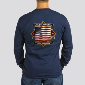 3rd Minnesota Infantry Long Sleeve T-Shirt