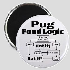Pug Food Magnet