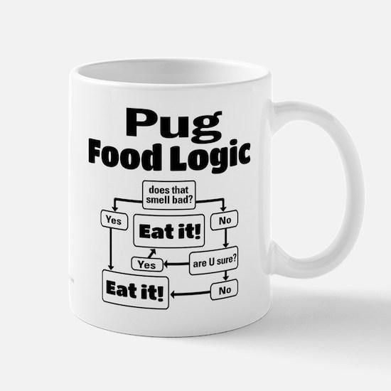 Pug Food Mug