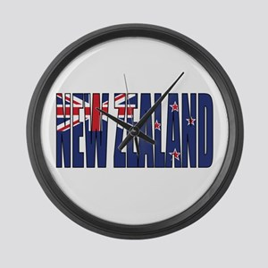 New Zealand Large Wall Clock